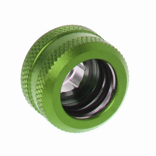Water Cooler Fitting Compression Verde Barrow p/ Tubo Rígido OD 14mm