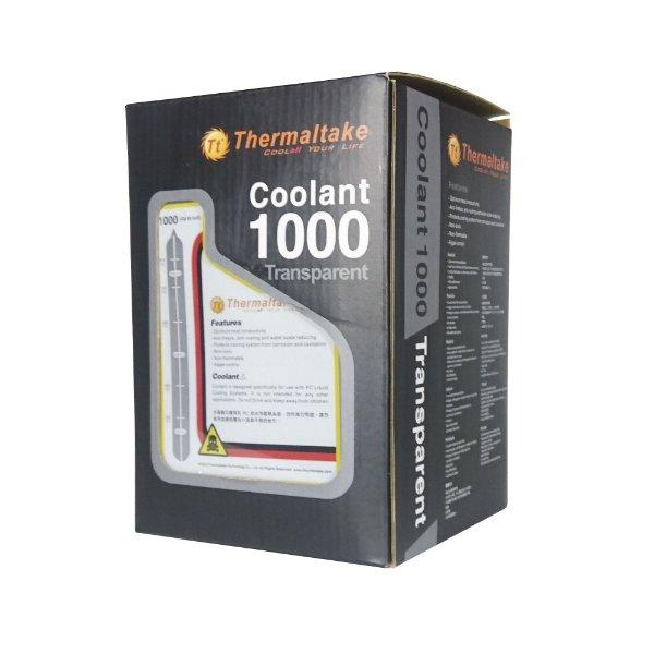 Fluído Thermaltake Coolant 1000 Transparente 1000ML