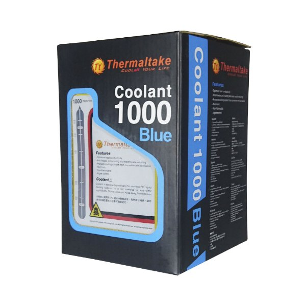 Fluído Thermaltake Coolant 1000 Azul 1000ML