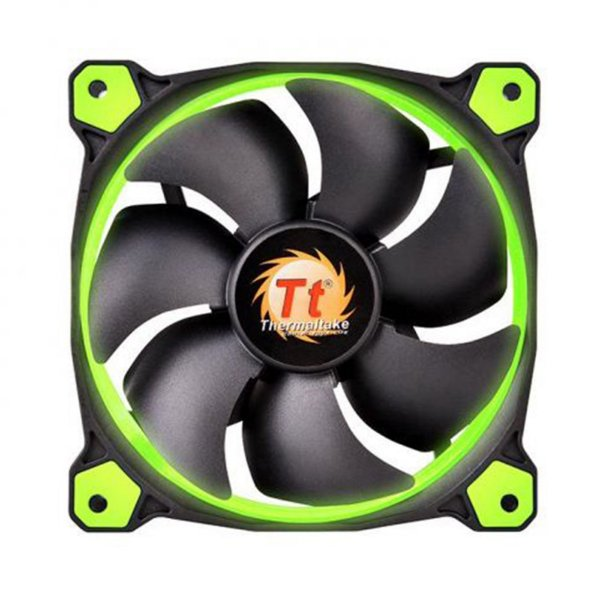 Fan Thermaltake Ring 12 Verde 120mm 1500RPM