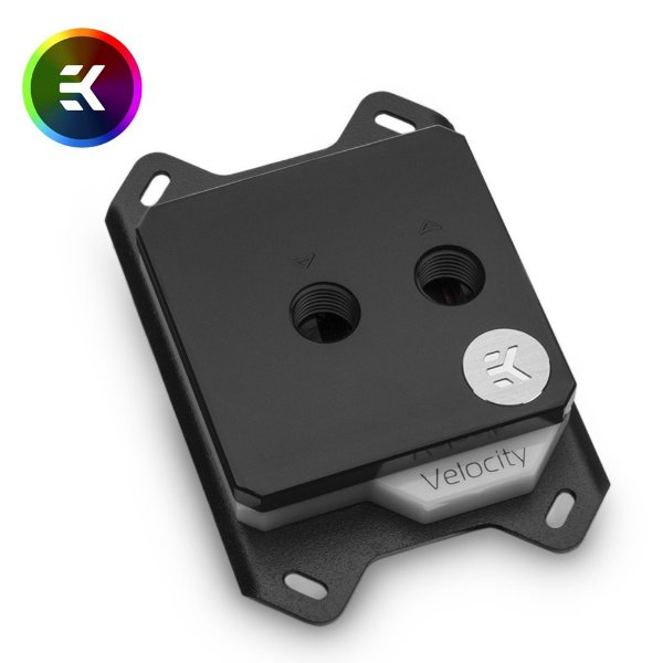 Water Cooler CPU Block EK-Velocity RGB AMD