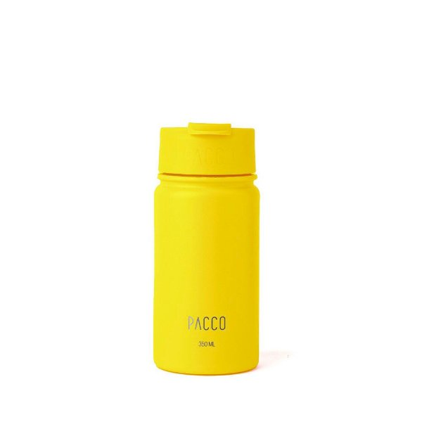 Tumbler Térmico com Infusor 350ml  Amarelo It's On - PACCO BY