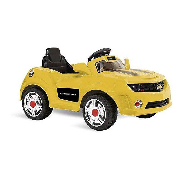 Camaro com Controle Remoto 6V Amarelo - Bandeirante
