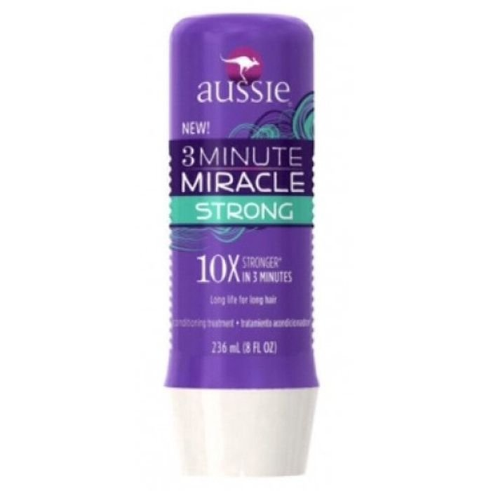 Máscara Aussie 3 Minute Miracle Strong 236ml