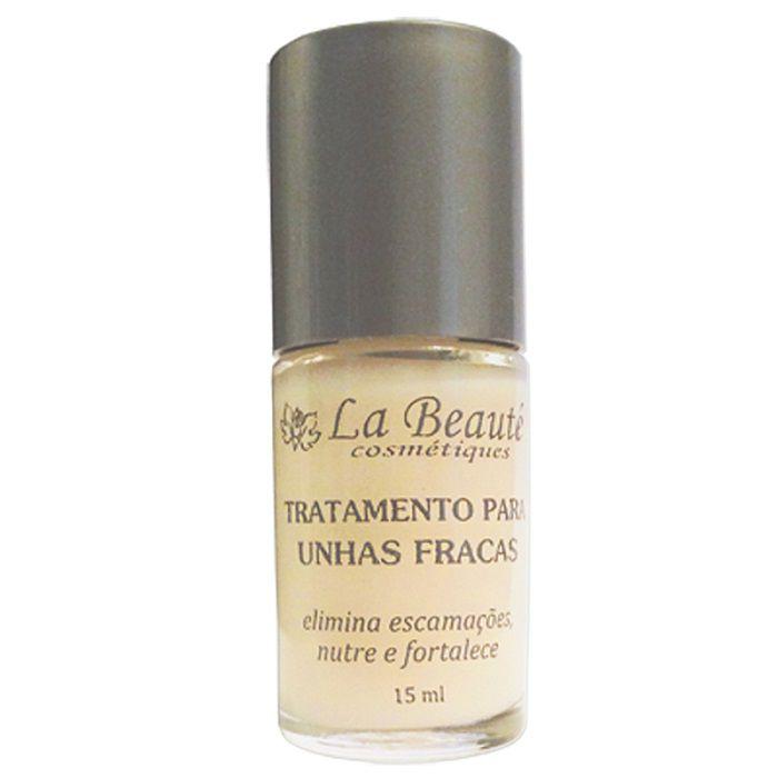 Tratamento Para Unhas Fracas - 15 ml - La Beauté