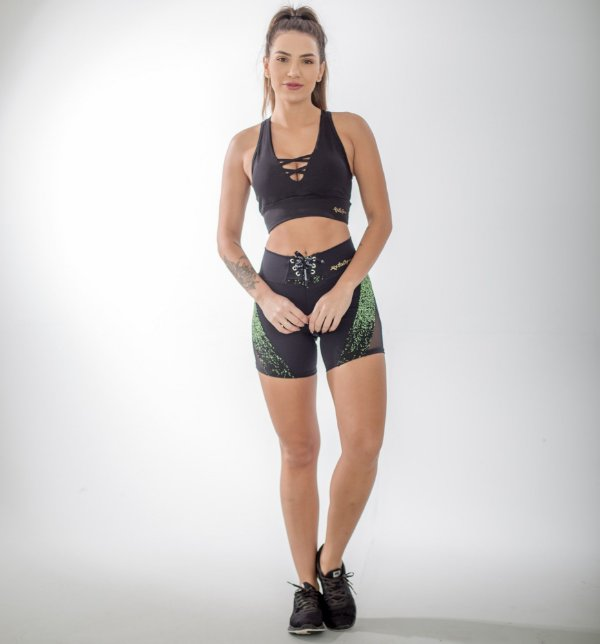 SHORTS POWERFUL+TOP FITS- PRINT:01
