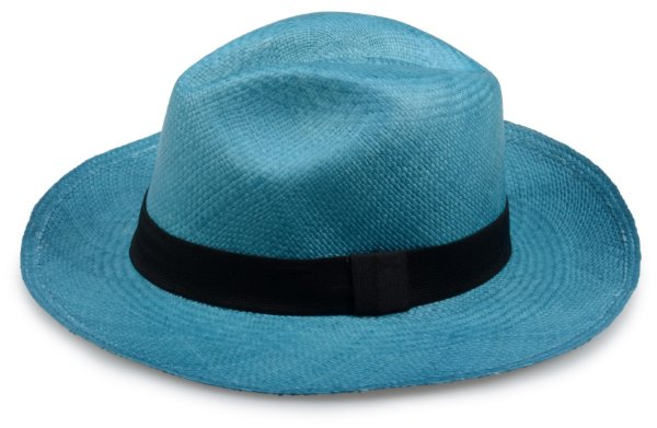 Chapéu Panamá Verde Água Aba Média Edição Limitada