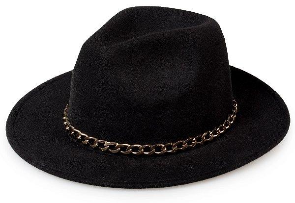 Chapéu Fedora Customizado Corrente Cobre Custom Hats