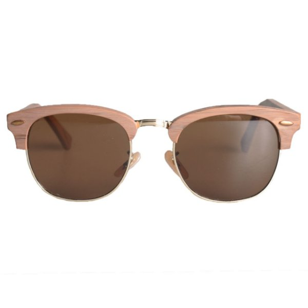 Óculos ClubTree Madeira Marrom