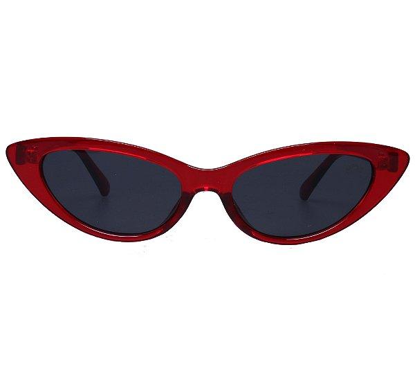 62f0fd1530673 óculos feminino gatinho vermelho intense - Compre com quem é ...
