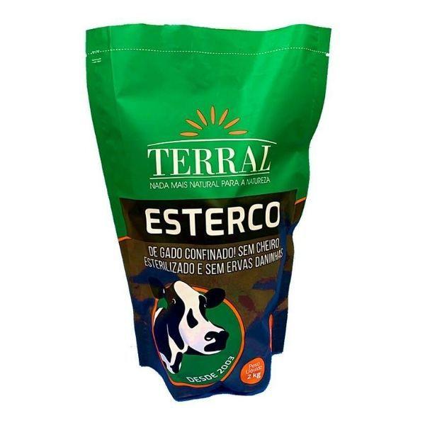 Esterco de gado Terral - 2kg
