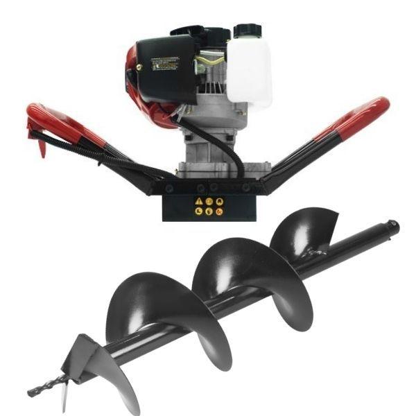 Perfurador de solo toyama TEA43X-150 GII 2T + Broca 150mm