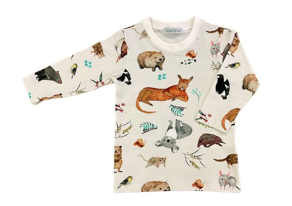 Camiseta manga longa silvestrinhos