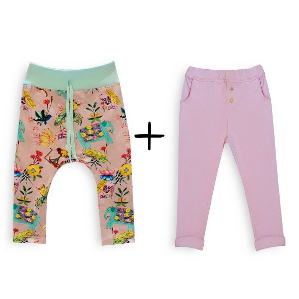 Kit calças bebê menina