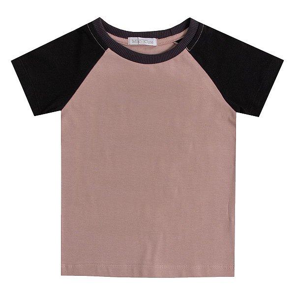 Camiseta infantil haglan nude lisa