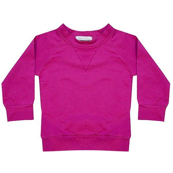 Moletom infantil pink
