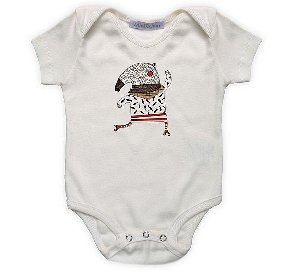 Body bebê tamanduá