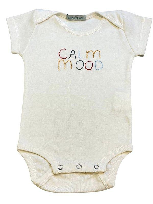 Body infantil bordado calm mood