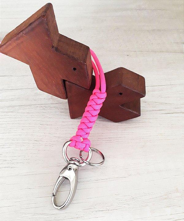 Lanyard Rosa Neon