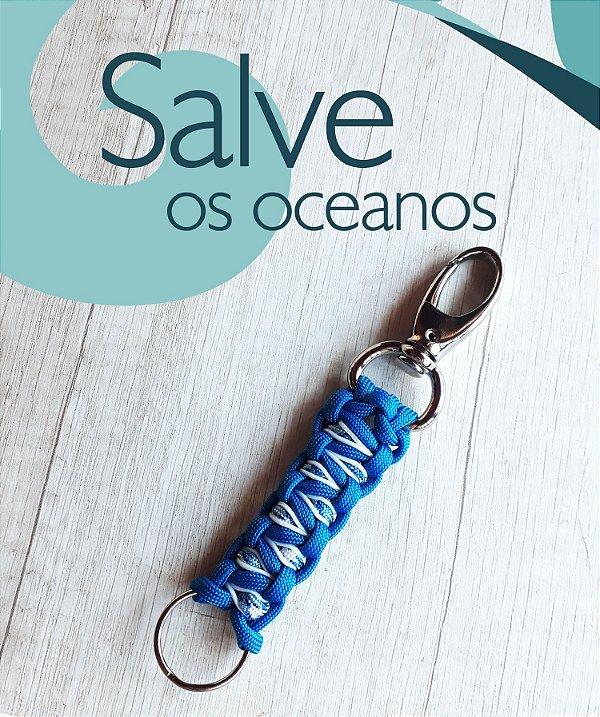 Chaveiro Oceano Azul