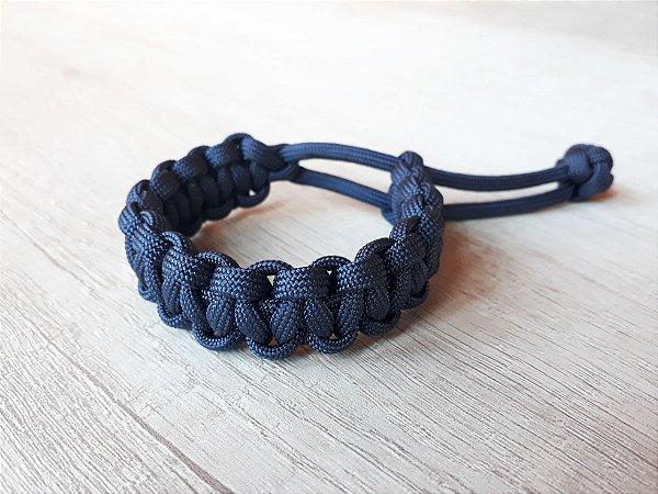 Pulseira da Sobrevivência - azul marinho