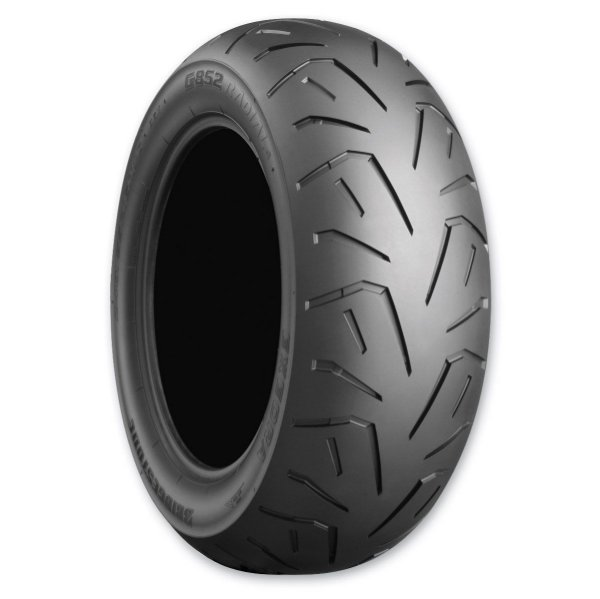 Pneu Bridgestone Moto Traseiro 75W R852Z 200/50ZR17M/C Suzuki M1500 2011 Acima