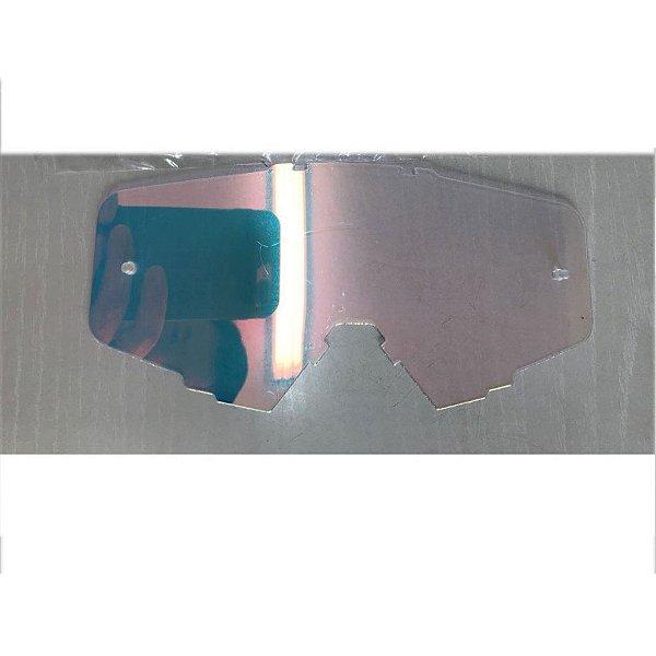 Lente de Reposição simples Semi Espelhada Oculos Red Dragon modelo EFX YH-105