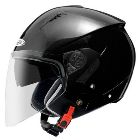 Capacete Moto Zeus 205 Black Aberto