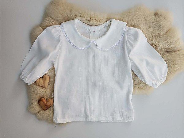 Camisa Algodão Branca