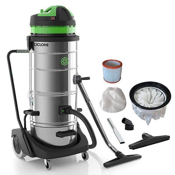 Ciclone - Aspirador Profissional para poeiras finas - Sólidos e líquidos