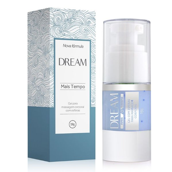 Dream Mais Tempo - Gel para Massagem com Esferas - 19g