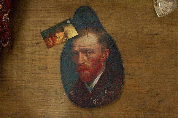 Lixeira Automotiva Van Gogh Autoretrato
