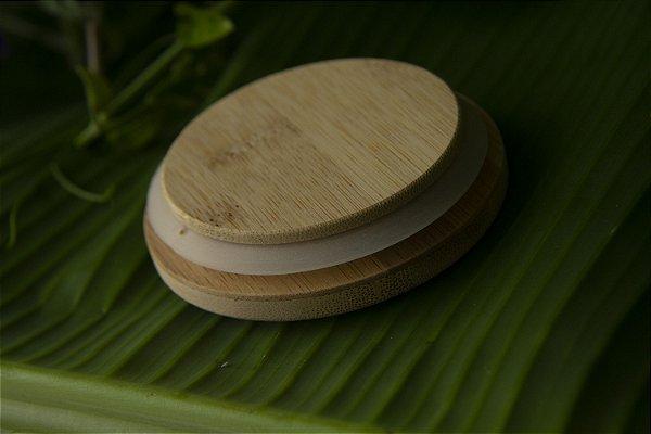 Tampa de Bambu para Canecas