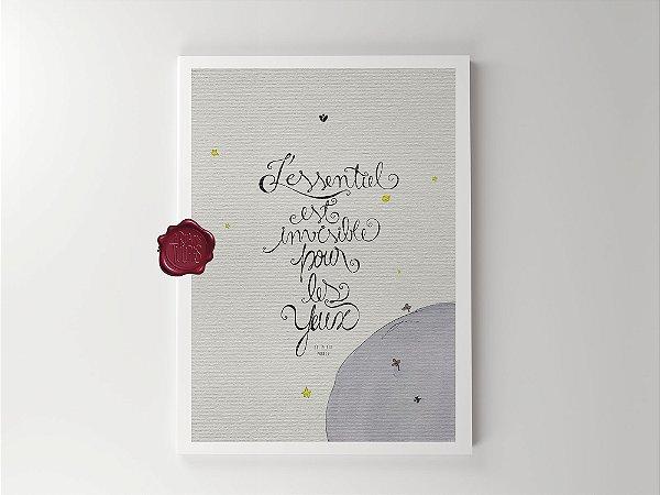 Print - Pequeno Príncipe - L'essentiel