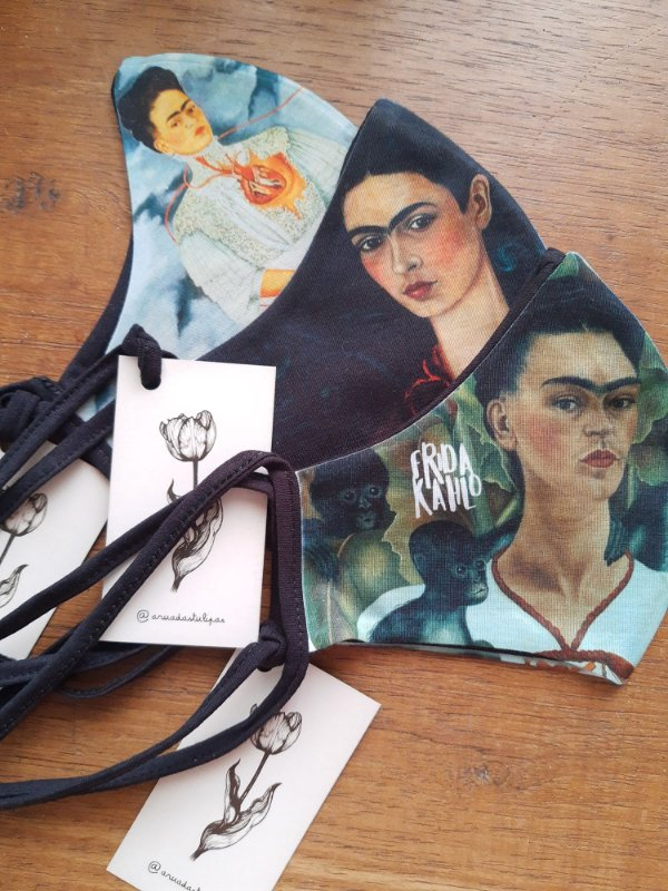 Kit Máscaras - Frida Kahlo