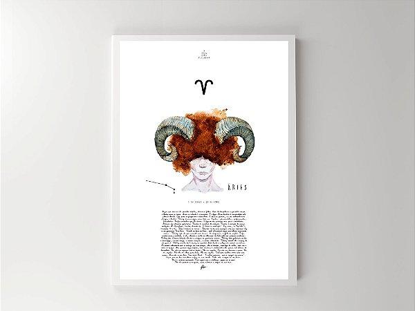 Print - Signos - Áries