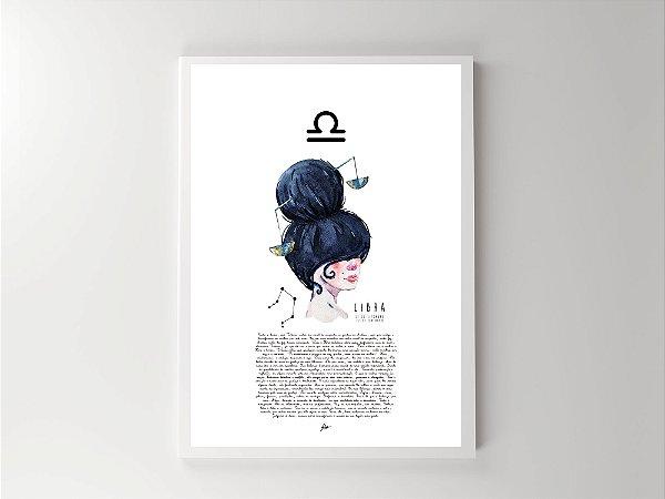 Print - Signos - Libra