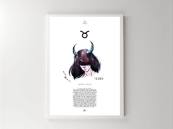 Print - Signos - Touro