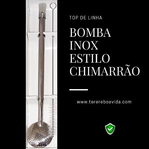 Bomba Inox Chimarrão c/ Bocal