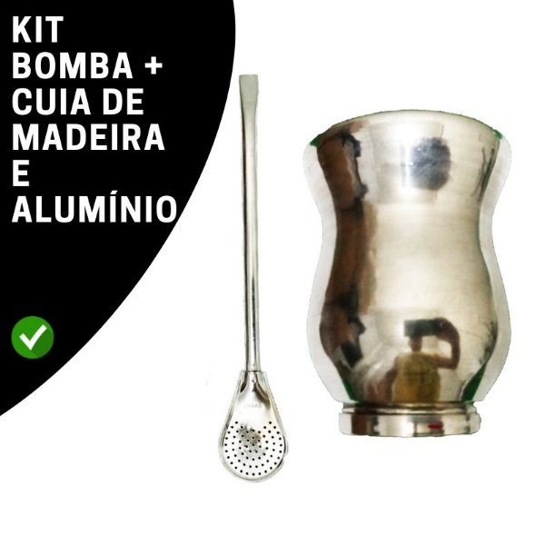 Kit Bomba e Cuia