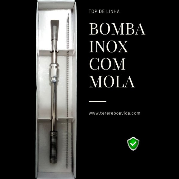 Bomba Inox Mola 23cm