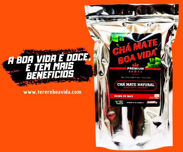Chá Mate Boa Vida Premium 500G