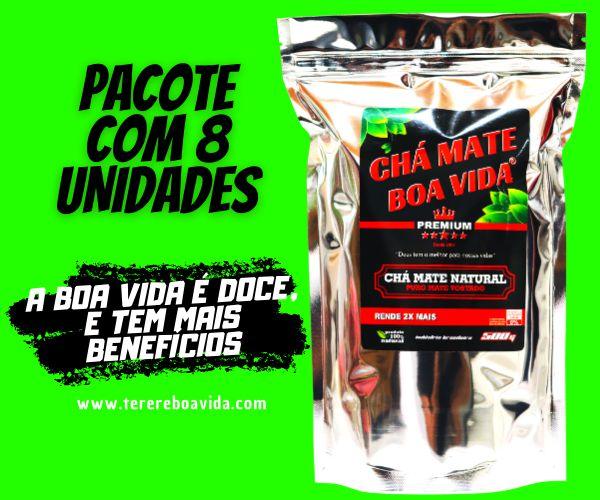 PCT/8un - Chá Mate Boa Vida Premium 500G