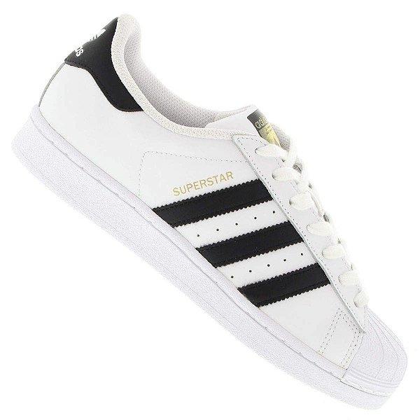 55be620366 Tênis Adidas Superstar Foundation COURO Unissex - (Várias cores)