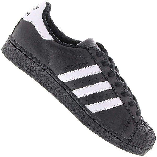 a2bba573345 Tênis Adidas Superstar Foundation COURO Unissex - (Várias cores ...