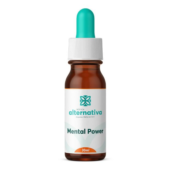 Floral De Bach - Mental Power - Esforço Mental Excessivo 30mL