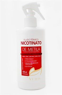 Fluido Térmico Nicotinato de Metila 500ml / Vedis