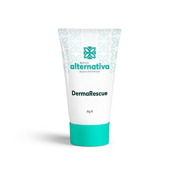 DermaRescue - Creme Calmante e Hidratante Com Floral de Bach Rescue 30g