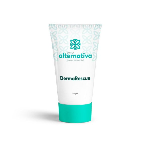 DermaRescue - Creme Calmante e Hidratante Com Floral de Bach Rescue 60g