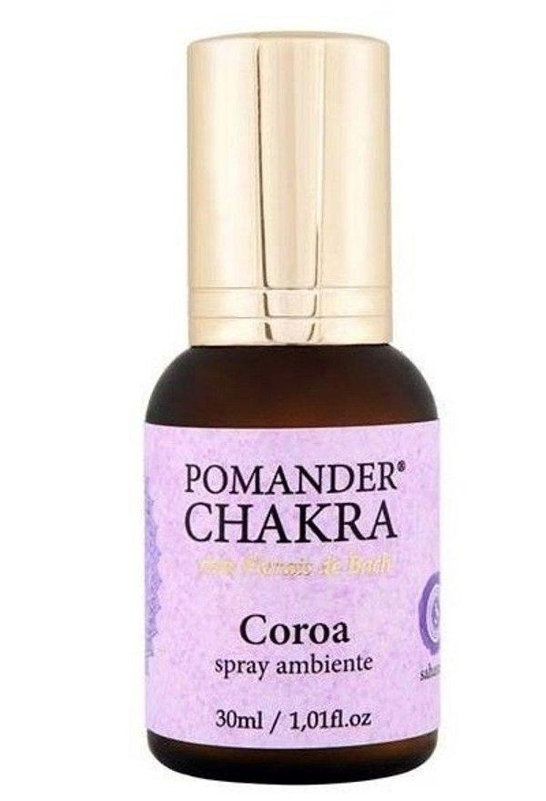 Pomander Chakra Coroa 30mL Spray